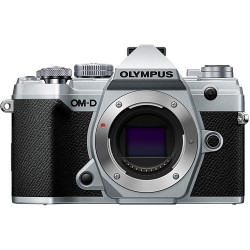 Camera Olympus OM-D E-M5 MARK III (silver) + Audio recorder Olympus LS-P1 LineArt PCM Recorder Video Kit