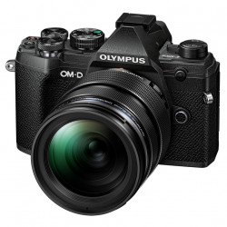 Camera Olympus OM-D E-M5 MARK III (black) + Lens Olympus MFT 12-40mm f/2.8 PRO