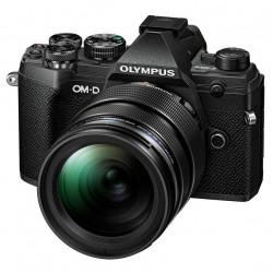 фотоапарат Olympus OM-D E-M5 Mark III (черен) + обектив Olympus MFT 12-40mm f/2.8 PRO + статив Joby Gorillapod 1K Kit мини статив + батерия Olympus JUPIO BLS-50 BATTERY