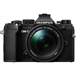 фотоапарат Olympus OM-D E-M5 Mark III (черен) + обектив Olympus M.Zuiko ED 14-150mm f/4-5.6 II + обектив Olympus 25mm f/1.8 MSC