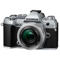 Camera Olympus OM-D E-M5 MARK III (silver) + Lens Olympus ZD Micro 14-42mm f / 3.5-5.6 EZ ED MSC (Silver) + Battery Olympus BLS-50
