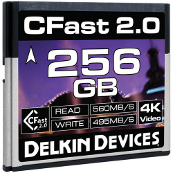 карта Delkin Devices CFast 2.0 256GB DDCFST560256