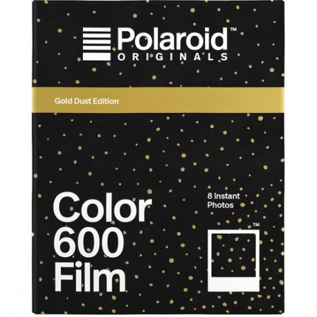 POLAROID ORIGINALS 600 COLOR FILM GOLD DUST FRAME EDITION