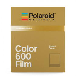Polaroid Originals 600 цветен със златни рамки