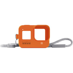 аксесоар GoPro AJSST-004 Sleeve+Lanyard Hyper Orange за HERO8