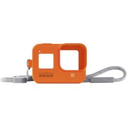 Accessory GoPro AJSST-004 Sleeve + Lanyard Hyper Orange for HERO8