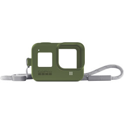 Accessory GoPro AJSST-005 Sleeve + Lanyard Tirtle Green for HERO8