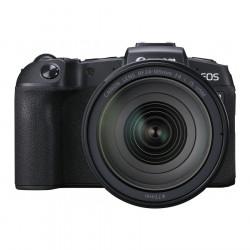фотоапарат Canon EOS RP + адаптер за EF/EF-S + обектив Canon RF 24-105mm f/4L IS USM + обектив Canon RF 35mm f/1.8 Macro