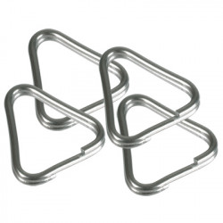 Accessory B.I.G. 4430199 Triangle Split Rings 4 pcs.