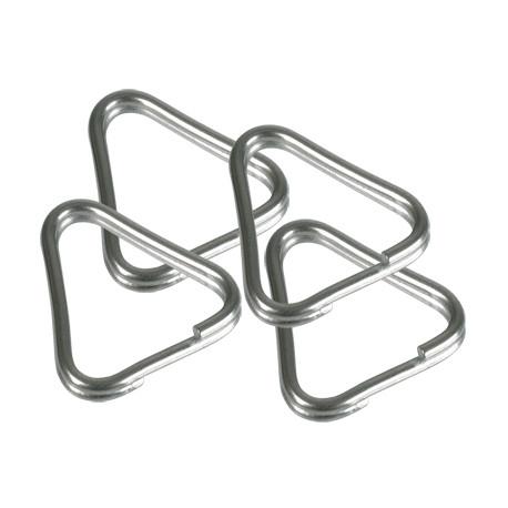 B.I.G. 4430199 Triangle Split Rings 4 pcs.