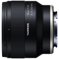 Lens Tamron 35mm f / 2.8 DiI III OSD M 1: 2 for Sony E