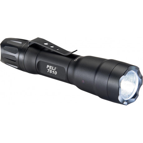 PELI 7610 LED TORCH 1AA/2CR123 BLACK 076100-0000-110E