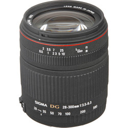 Lens Sigma 28-300MM f / 3.5-6.3 DG MACRO (used)