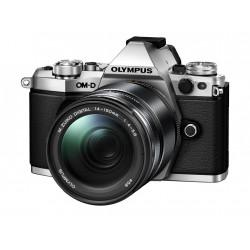 фотоапарат Olympus OM-D E-M5 MARK II (сребрист) + обектив Olympus M.Zuiko ED 14-150mm f/4-5.6 II