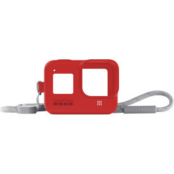 Accessory GoPro AJSST-008 Sleeve + Lanyard Firecracker Red for HERO8