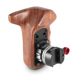 Accessory Smallrig 2118B Left wooden handle with NATO grips