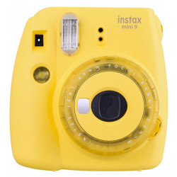 Instant Camera Fujifilm instax mini 9 Instant Camera Yellow + Film Fujifilm Instax Mini ISO 800 Instant Film 10 pcs.