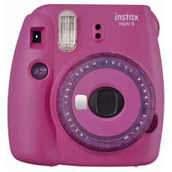 Instant Camera Fujifilm instax mini 9 Instant Camera Clear Purple + Film Fujifilm Instax Mini ISO 800 Instant Film 10 pcs.