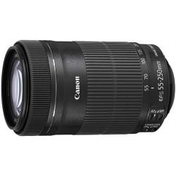 обектив Canon EF-S 55-250mm f/4-5.6 IS STM (употребяван)