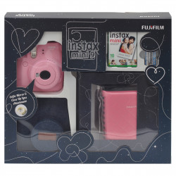 Fujifilm instax mini 9 Instant Camera Blush Rose Premium Kit