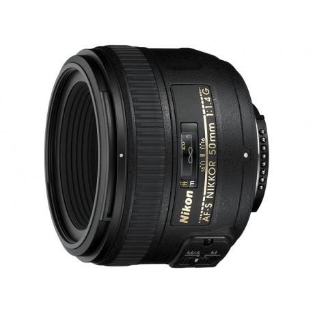 Nikon AF-S Nikkor 50mm f/1.4G (употребяван)