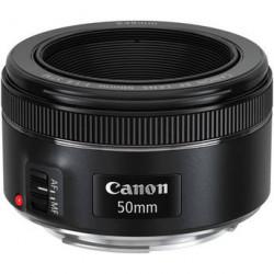 обектив Canon EF 50mm f/1.8 STM (употребяван)