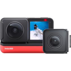 Camera Insta360 One R Twin Edition + Accessory Insta360 Invisible Selfie Stick for One X