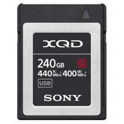 карта Sony XQD 240GB R:440 MB/s / W:400 MB/s
