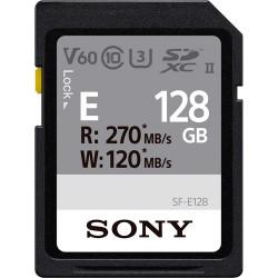 карта Sony SDXC 128GB UHS-II R:270MB/s W:120MB/s U3 V60 SF-E128/T1