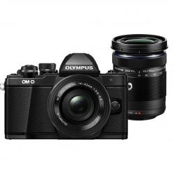 фотоапарат Olympus E-M10 III + обектив Olympus 14-42mm f/3.5-5.6 II R + обектив Olympus 40-150mm f/4-5.6 R MSC