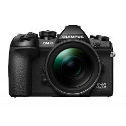 фотоапарат Olympus E-M1 Mark III + обектив Olympus MFT 12-40mm f/2.8 PRO