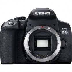 DSLR camera Canon EOS 850D + Lens Canon EF-S 18-55mm f / 3.5-5.6 IS STM