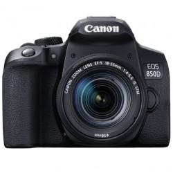 DSLR camera Canon EOS 850D + Lens Canon EF-S 18-55mm IS STM