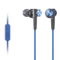 слушалки Sony MDR-XB50AP Extra Bass (син)