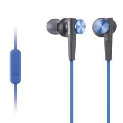 Earphones Sony MDR-XB50AP Extra Bass (Blue)
