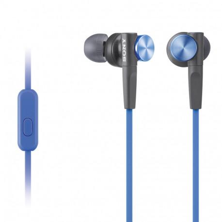 SONY MDR-XB50AP EXTRA BASS BLUE