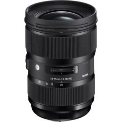 Lens Sigma 24-35mm f / 2 DG HSM | A - Canon EF (revalued)