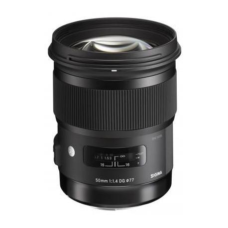 Sigma 50mm f/1.4 DG HSM Art - Canon EF (употребяван)