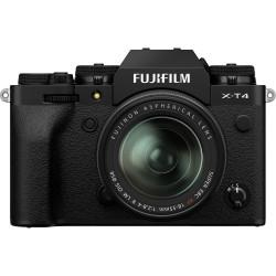 фотоапарат Fujifilm X-T4 (черен) + обектив Fujifilm XF 18-55mm f/2.8-4 R LM OIS