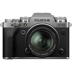 фотоапарат Fujifilm X-T4 (сребрист) + обектив Fujifilm XF 18-55mm f/2.8-4 R LM OIS