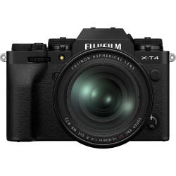 фотоапарат Fujifilm X-T4 (черен) + обектив Fujifilm Fujinon XF 16-80mm f/4 R OIS WR