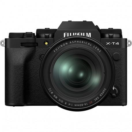 FUJIFILM X-T4 BLACK + 16-80MM KIT