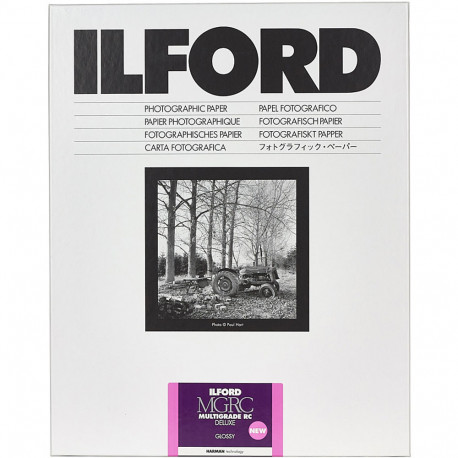 Ilford MULTIGRADE RC Deluxe Glossy 24x30.5cm / 10 sheets