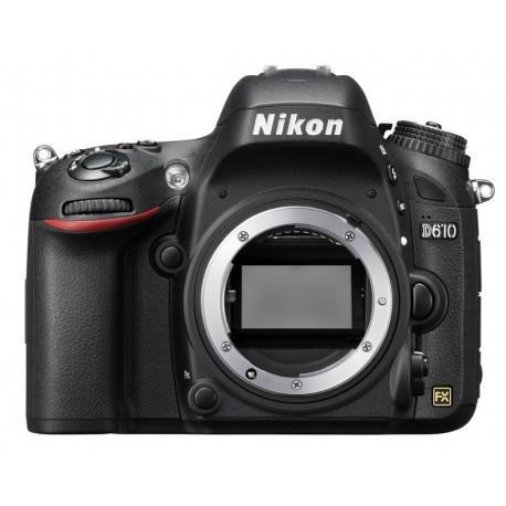 Nikon D610 + батериен грип MB-D14 (употребяван)