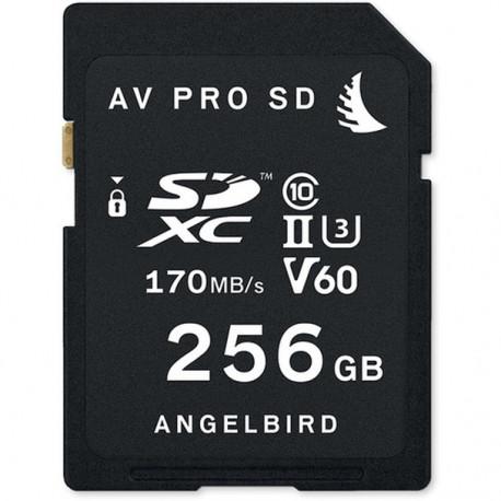 ANGELBIRD AV PRO SD MK2 V60 256GB SDXC 170MB/S