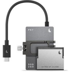 Angelbird 1.512TB Match Pack Blackmagic Pocket Cinema Camera 6K (1TB SSD графит + 512GB Cfast + Mounting Bracket)
