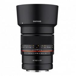 обектив Samyang MF 85mm f/1.4 - Canon EOS R (RF)