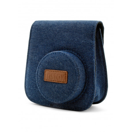 FUJIFILM INSTAX MINI 9 CAMERA CASE WITH STRAP JEANS CANVAS