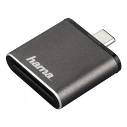 четец Hama 124186 Card Reader SD UHS-II USB Type C Gen 3.1