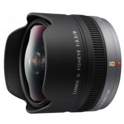 обектив Panasonic Lumix G 8mm f/3.5 Fisheye (употребяван)